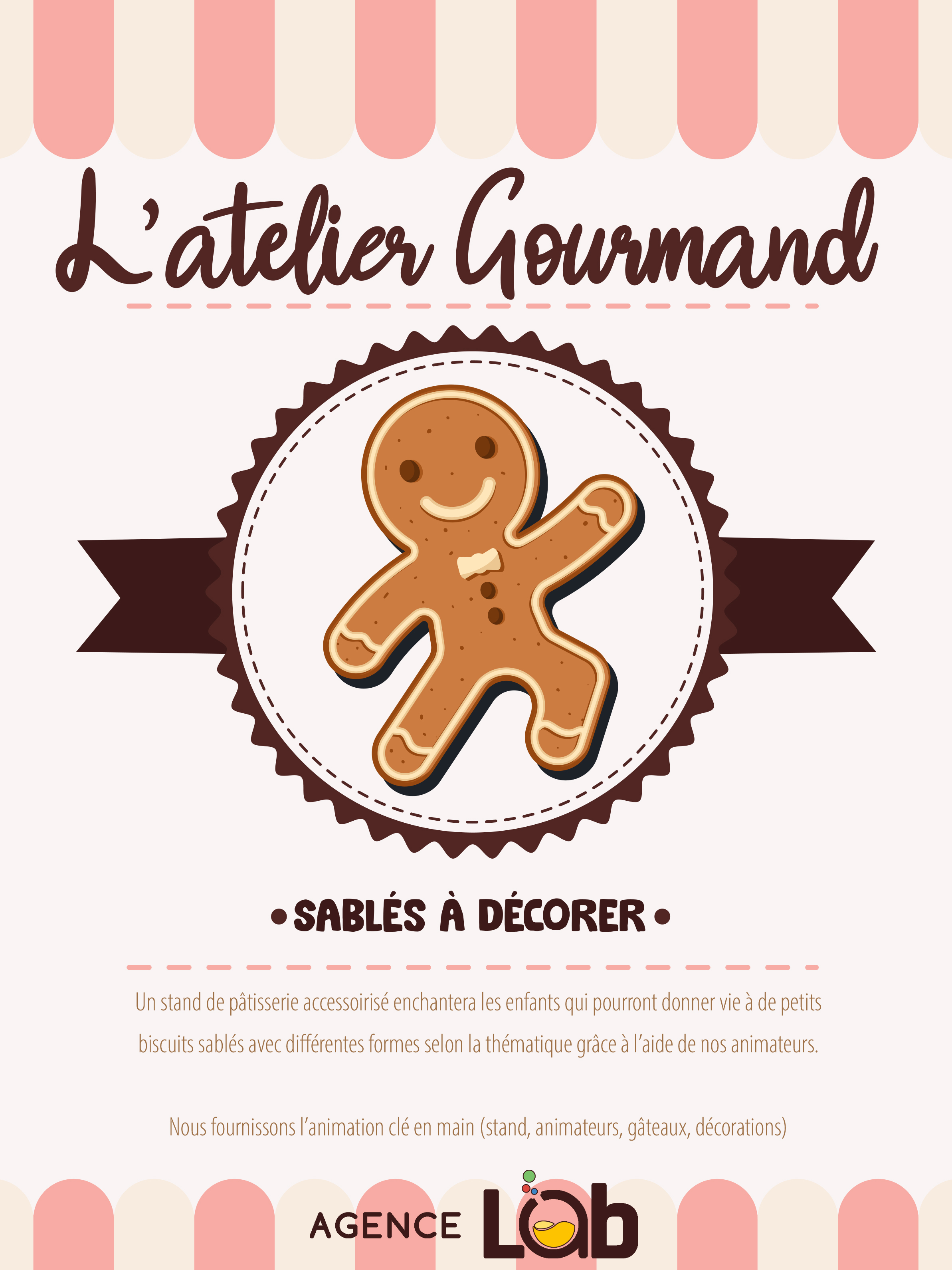Animation Commerciale Atelier Gourmand galerie marchande